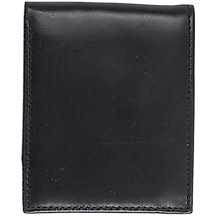 3D W350 Black Basic Bifold Wallet
