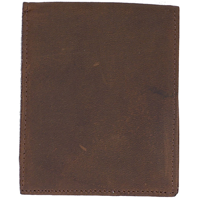 3D W352 Brown Basic Bifold Wallet