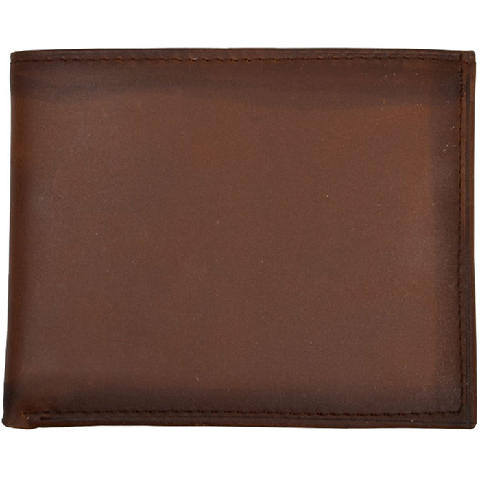 3D W622 Brown Basic Bifold Wallet