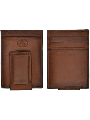 3D W644 Brown Basic Money Clip
