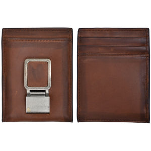 3D W664 Brown Basic Bifold Wallet