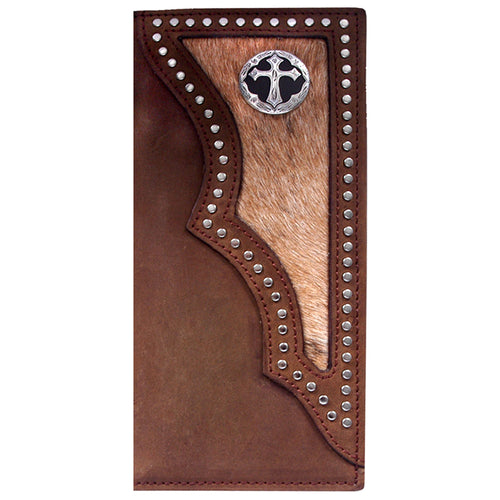3D W943 Dark Brown Western Rodeo Wallet