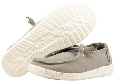 HEY DUDE 121413000 WOMEN'S WENDY GREY SHOE