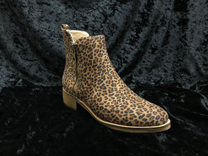 Corkys 80-9642-SMLP Neal Small Leopard Bootie