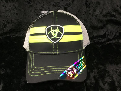 ARIAT 1518201 NEON GREEN CAP *Closeout*