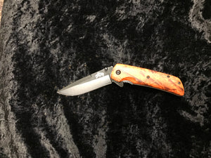 MASTER CUTLERY MU-A005OC ORANGE CAMO KNIFE