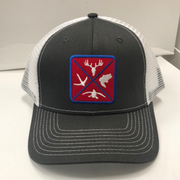 Hunters Logo HW-OS-CWH Snap Back Trucker Cap