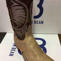 "Women's Anderson Bean Tan Zebra 11"" Wide Square Toe"