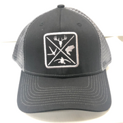 Hunters Logo HW-OS-CBL Snap Back Trucker Cap