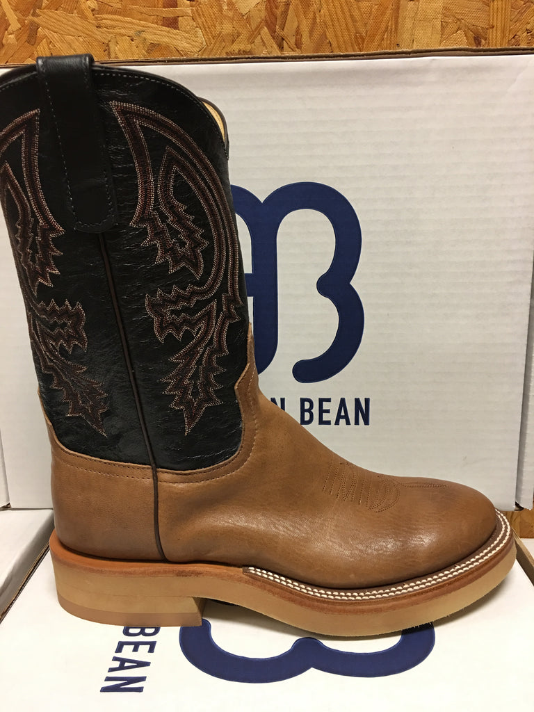 Anderson Bean Brown Mustang 11 Quot Round Toe Crepe Sole