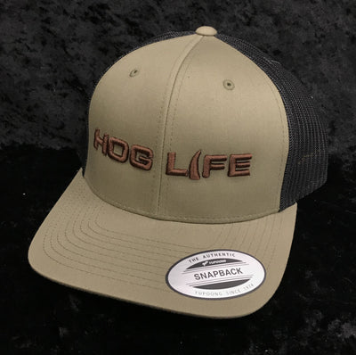 Hog Life HLC-129 Sioux Loden/Black Snap Back Cap