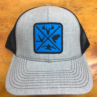 Hunters Logo Snap Back Trucker Cap FREE SHIPPING