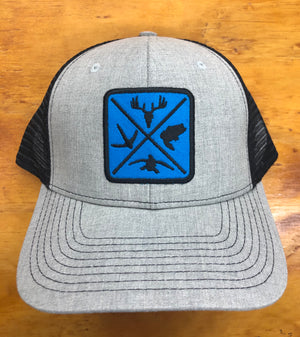 Hunters Logo Snap Back Trucker Cap