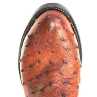 "Lucchese M1606R4 13"" Montana Tan Full Quill Ostrich R Toe (Limited Stock) *CLOSEOUT*"