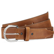 Silver Creek 53709 Brown Classic Western Belt