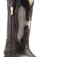 "Corral R1181 13"" Silver Eagle Metallic Snip Toe *CLOSEOUT*"