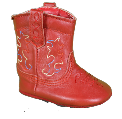 Smoky Mountain KD1052 Infant Red Boot *Closeout*