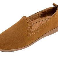 Women's Minnetonka Moccasin 69303 Shay Dusty Brown Driving Moc *Closeout*
