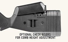 Bayou Tactical Cheek Riser Kit Magpul Hunter X-22 Ruger 10/22 Stock