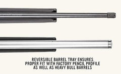 Bayou Tactical Reversible Barrel Tray Magpul Hunter X22 Ruger1022Stock