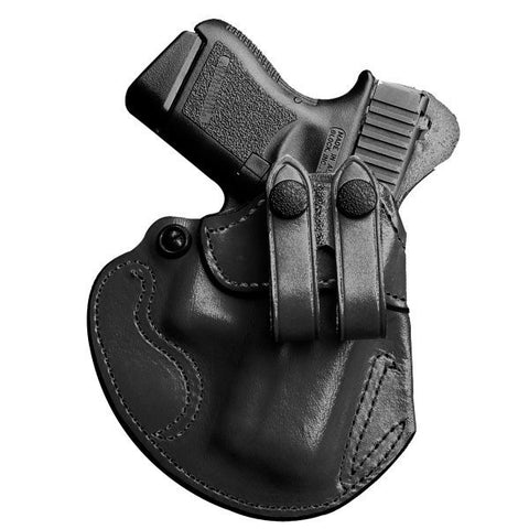Desantis #028 Cozy Partner Inside the Pant Holster Fits Glock 42 Right Hand Leather Black 028BAY8Z0