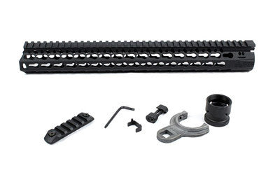 "BCM GUNFIGHTER KEYMOD 5.56 15"" BLK"