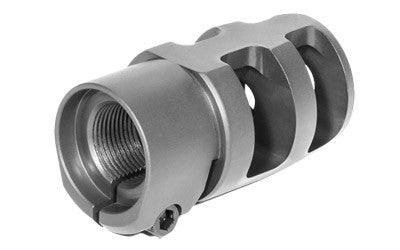 Badger Mini FTE Muzzle Brake - Clamp Style (.22 CAL | 5/8-24) 249-81