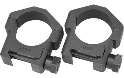 Badger 30MM Ring Fits Picatinny Medium Height Black 306-20