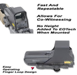 GG&G EOTECH Scope Accucam Quick Detach Mounting System For the 511, 512, 551 AND 552 GGG-1190