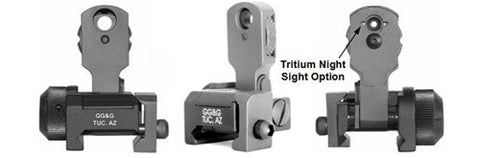 GG&G Sight with Locking Detent Fits AR-15 Black MAD (Multiple Aperture Device) GGG-1006