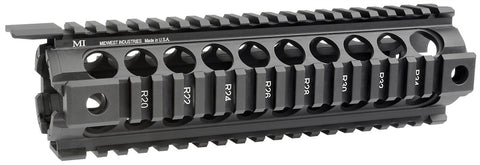 Midwest Industries Gen2 Two Piece Drop-In Handguard, Mid-Length Black