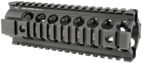 Midwest Industries Gen2 Two Piece Free Float Handguard - Black MCTAR-20G2