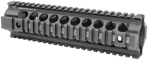 Midwest Industries Gen2 Two Piece Free Float Handguard, Mid-Length - Black MCTAR-21G2