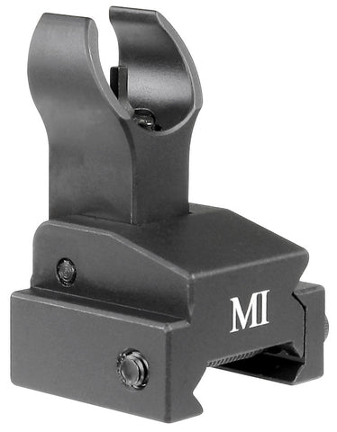 Midwest Industries Flip Up Front Sight, Handguard Rail Model - Black MCTAR-FFR