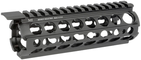 Midwest Industries AR-15/M16 K-Series KeyMod Two Piece Drop-In Handguard, Carbine Length MI-17K