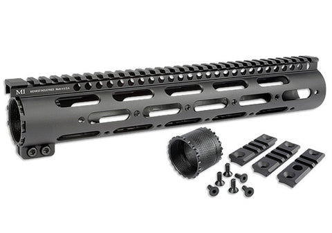Midwest Industries DPMS .308/7.62 NATO SS-Series One Piece Free Float Handguard, .150 Upper Tang MI-308SS12-DL