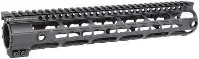 Midwest Industries DPMS .308 KeyMod Series One Piece Free Float Handguard, .150 Upper Tang