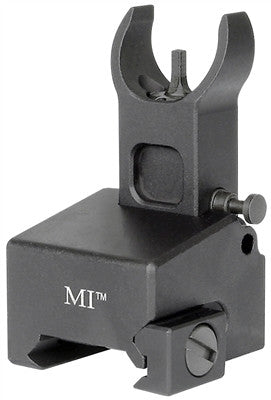 Midwest Industries Locking Low Profile Flip Front Sight for Gas Block-Black MI-LFFG