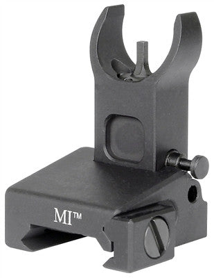 Midwest Industries Low Profile Flip Front Sight, Locking-Black MI-LFFR