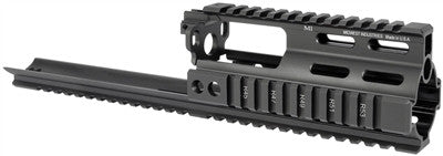 Midwest Industries SSR SCAR Rail Extension - Black MI-S1617-SSR