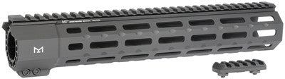 Midwest Industries SP-Series (Suppressor Compatible) One Piece Free Float Handguard, M-LOK™ Black MI-SP12M
