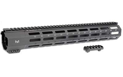 "Midwest Industries, Handguard, M-LOK, Fits Ruger Precision Rifle, 15"", Black Finish MI-RPRM-15"