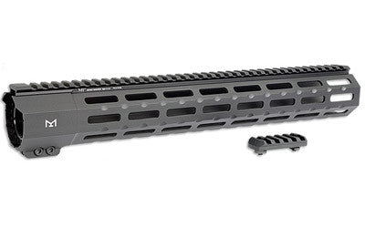 "Midwest Industries, Handguard, M-LOK, Fits Ruger Precision Rifle, 15"", Black Finish MI-RPRM-18"