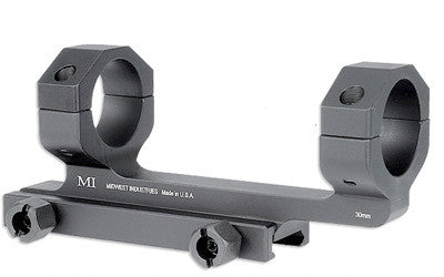 Midwest Industries Scope Mount, 1 Inch Black MI-SM1
