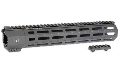 Midwest Industries SP-Series (Suppressor Compatible) One Piece Free Float Handguard, M-LOK™ compatible - Black MI-SP7M