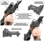 GG&G Offset Tactical Flashlight Mount GGG-1131