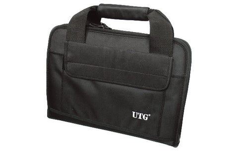UTG Deluxe Double Pistol Case, Black