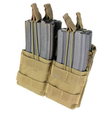 Condor Double Stacker Open-Top M4 Mag Pouch