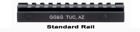 GG&G Standard AR15/M16 Scope Rail GGG-1002