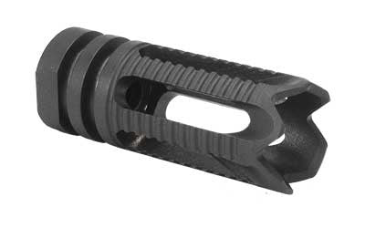 Yankee Hill Machine Co, Phantom Comp/Flash Hider, 556NATO, 1/2x28, Aggressive, Fits AR Rifles, Black Finish